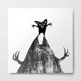 Small monster – big shadow Metal Print