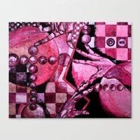 chess Canvas Prints featuring Chess by Rishi Parikh