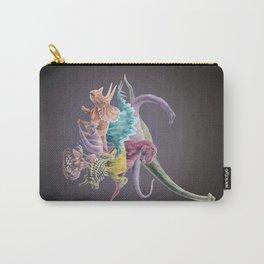 Rainbow Dinosaurs Carry-All Pouch