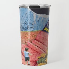 Spam Mountain Travel Mug