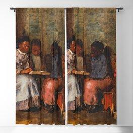 Winslow Homer's Sunday Morning in Virginia (1877) Blackout Curtain