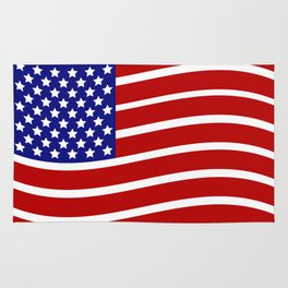 flag of the united states Rug