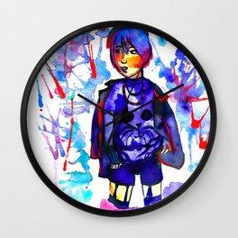 Hong Kong Boy - Bright Vibes Wall Clock