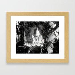 Paris - Basilique du Sacré Cœur Framed Art Print