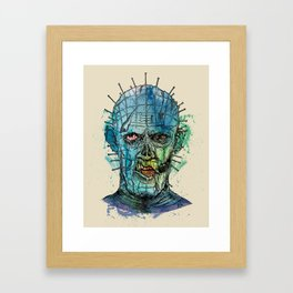 Zombie Raiser Framed Art Print