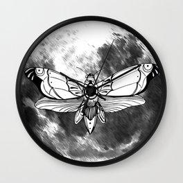 Moonmoth Wall Clock