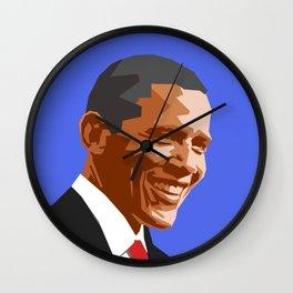 Barack 2 Wall Clock
