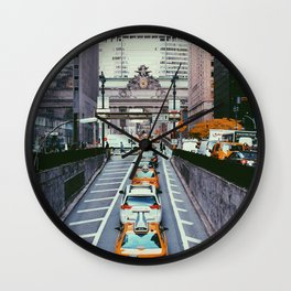 Outside Grand Central, NYC Wall Clock