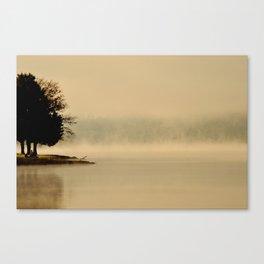 Haunted Dawn Canvas Print