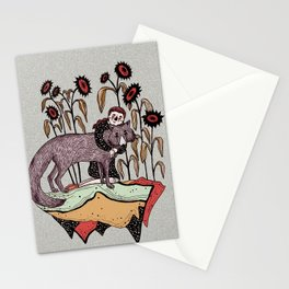 Abrazo florido Stationery Cards