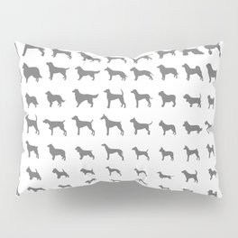 All Dogs (Grey/White) Pillow Sham