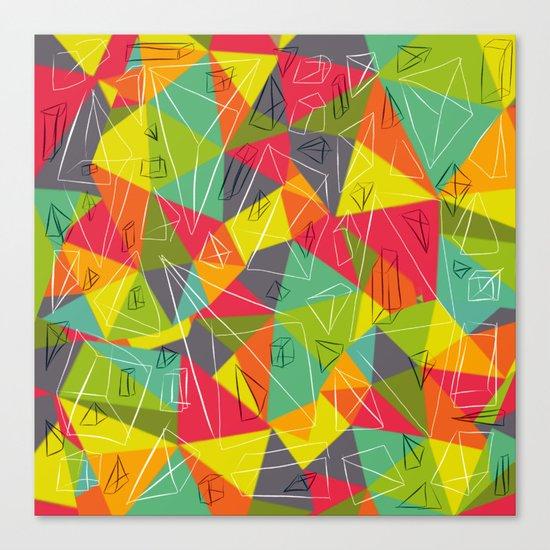 geo frame Canvas Print