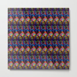Maze of Quilts Metal Print