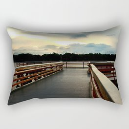 Watson Bayou Pier Rectangular Pillow