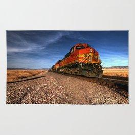BNSF Freight  Rug