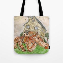 Hermit Apocalypse Tote Bag