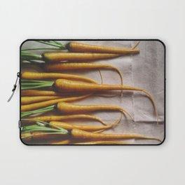 The Avant-Garden Root Veggie || Yellow Carrots  Laptop Sleeve