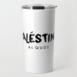 Al Quds x Palestine Travel Mug