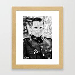 Amon Goeth Framed Art Print