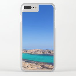 Elephant Cove 2 Clear iPhone Case