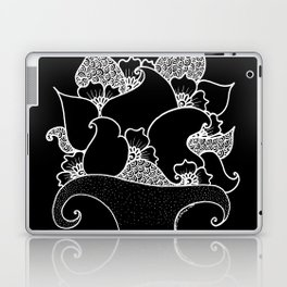 Amphora - Black White Laptop & iPad Skin