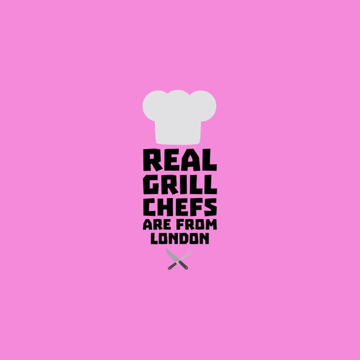 Real Grill Chefs are from London T-Shirt Dl16l Duvet Cover