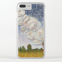 Storm Brewing Clear iPhone Case