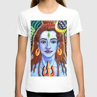 shiva T-shirts featuring Shiva Pop by Deepak Puri