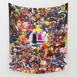 Smash Brothers Wall Tapestry