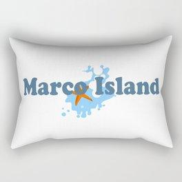 Marco Island. Rectangular Pillow