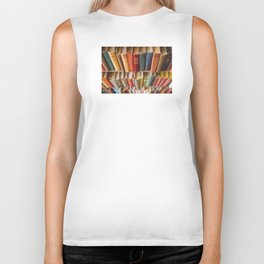The Colorful Library Biker Tank
