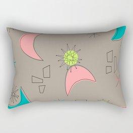 Boomerangs and Starbursts Rectangular Pillow