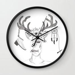 woman in society Wall Clock
