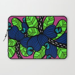 Pink & Blue Cashew Apple Laptop Sleeve