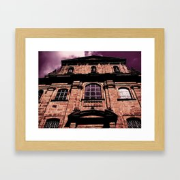 Reflections on a hill Framed Art Print