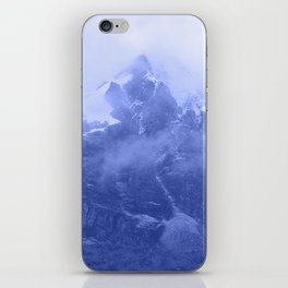 Rocky Mountain Fog Blue iPhone Skin