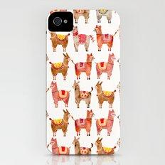 Alpacas iPhone (4, 4s) Slim Case