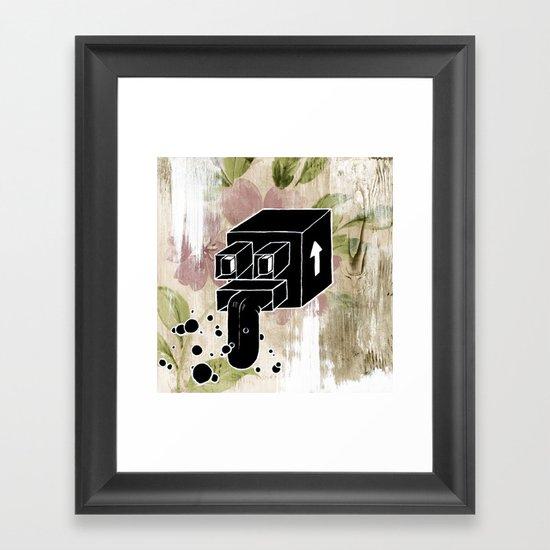Mystery Xmas Exchange No:2 Framed Art Print
