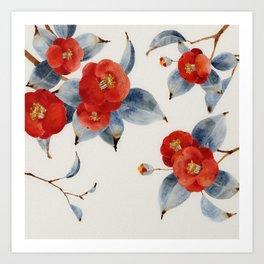 Chinese Painting | Camilla Art Print