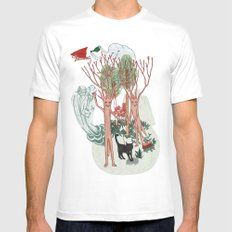A Stick-Insects Dream Mens Fitted Tee White MEDIUM