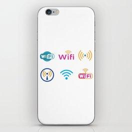 Wifi Logo iPhone Skin