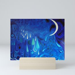 Tears of the moon Mini Art Print