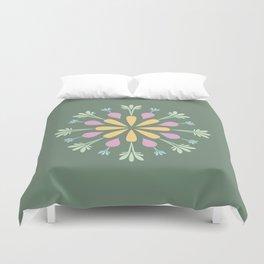 Vegetable Mandala Duvet Cover