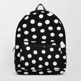 Big Fat Black White Spots Backpack