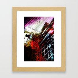 Retaliatory Red Framed Art Print