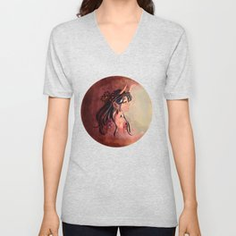Oni Cloaked in the Sun Unisex V-Neck