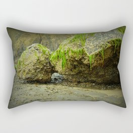 The Mossy Grotto Rectangular Pillow