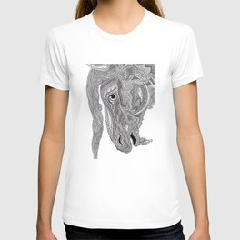 Horse doodle T-shirt