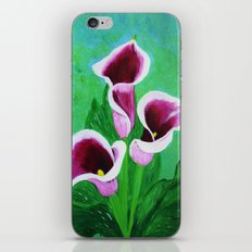 Kala Lilies  iPhone & iPod Skin