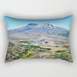Mt. St. Helens Path of Destruction Rectangular Pillow